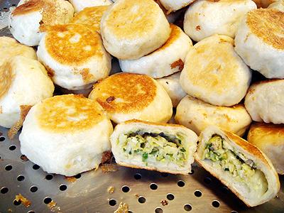 來呷剛出爐的水煎包 台南人的早餐