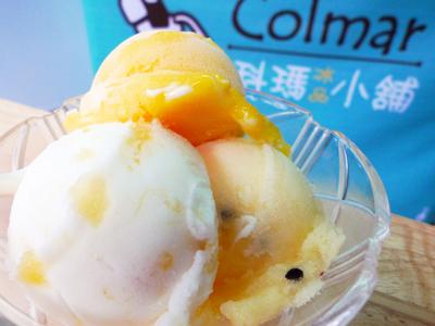 大里成功路手工冰品 新鮮爽口水果冰淇淋