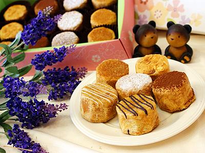 台南中秋月餅新口味 泡芙月餅法式風情
