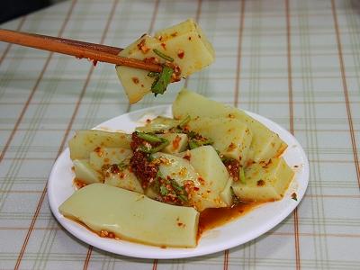 雲南地區的家常菜 口感清爽的碗豆粉