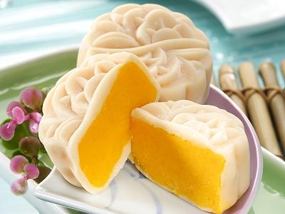 中秋月餅新口味 冰皮御皇餅不甜不膩無負擔