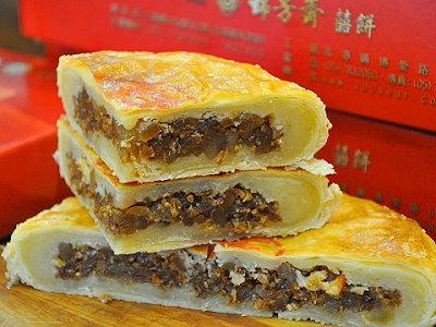 北港大餅廟口百年老店 古早味的冬瓜肉餅