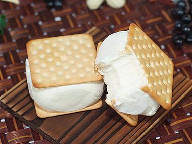 中秋好禮 天氣還沒涼還可以吃虎尾夾心冰餅