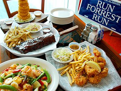 香港萬聖節/太平山頂阿甘蝦餐廳 連餐都搞怪!