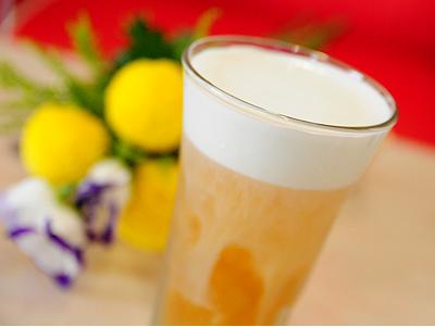 奶蓋綠茶 濃郁醇奶綠茶香