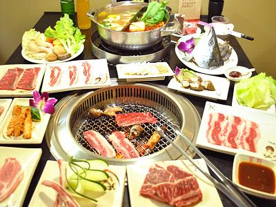 燒肉搭配火鍋吃到飽 經典食材絕佳風味