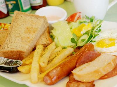 台北中山區美式餐廳 豐富飽足早午餐