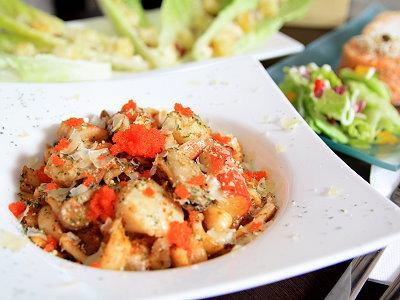 義式海鮮粄條 異想不到的風味美食