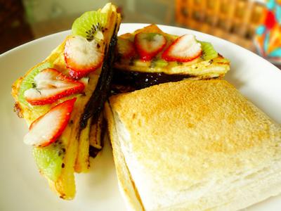 大里創意料理美食 晨食套餐精緻點心