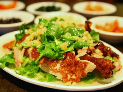 山東燒雞 韓式餐廳中的私房家常菜