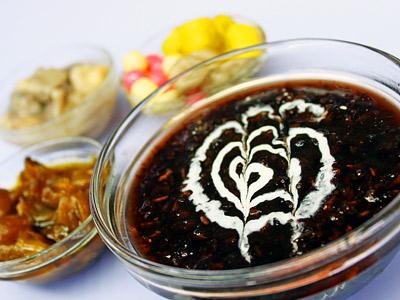 冬季暖呼呼 養生紫米粥營養高