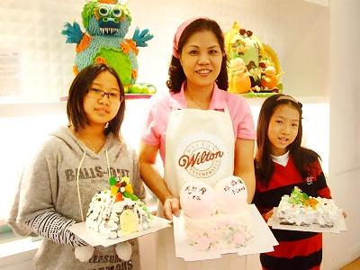 客製化藝術蛋糕 體驗蛋糕DIY樂趣