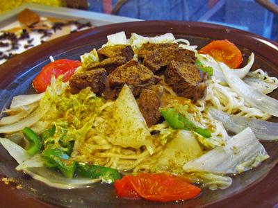 東海異國美食料理  新疆香料孜然呈現特殊風味