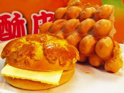 東海香港小吃 皮酥內Q的雞蛋仔
