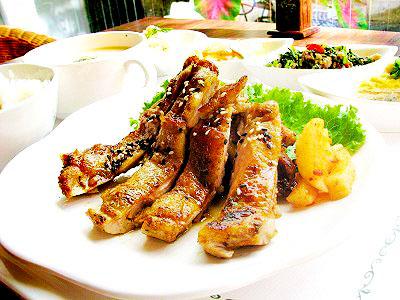 迷迭香料雞腿排 物超所值精緻套餐