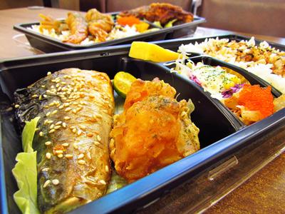 熱呼呼的三角飯糰、精緻的御便當 享受美味精緻輕食