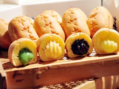 有包餡的日式燒果子 幸福甜甜過好年