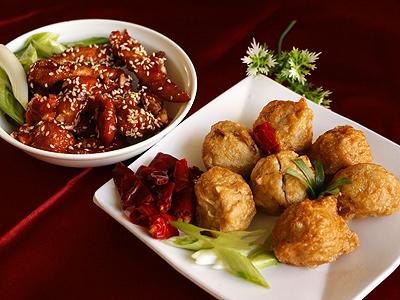 杏鮑菇丸、糖醋魚柳 台南小吃新菜上市