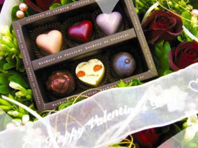 浪漫情人節 玫瑰花巧克力禮盒