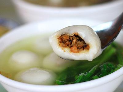 埔里古早味小吃美食 回憶兒時媽媽的圓仔湯