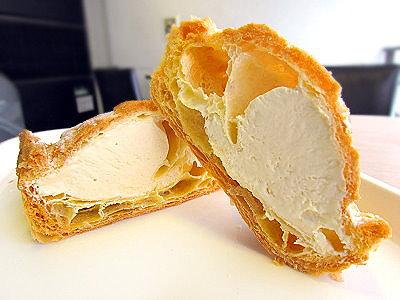 北海道特濃牛奶起酥泡芙 甜而不膩口感綿密