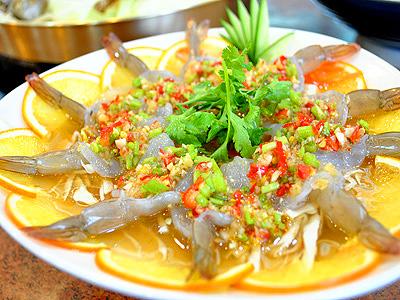 泰式酸辣鮮蝦 鮮嫩軟Q的獨特風味