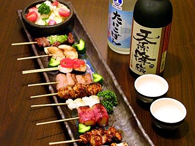 日本師傅為您呈現 備長炭串料理