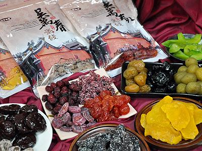 台灣蜜餞專賣店鋪 台南古早味蜜餞DIY