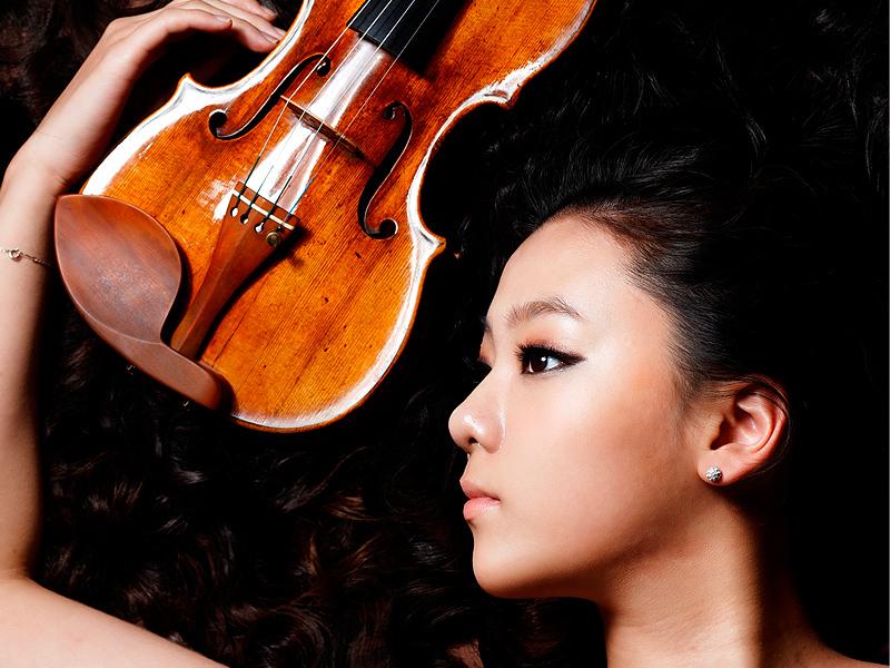 2012台中初夏音乐盛宴 韩国美女小提琴家特邀