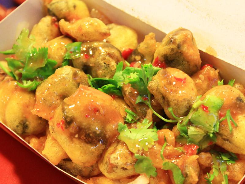 台中逢甲夜市學區美食 創新泰式風味小吃