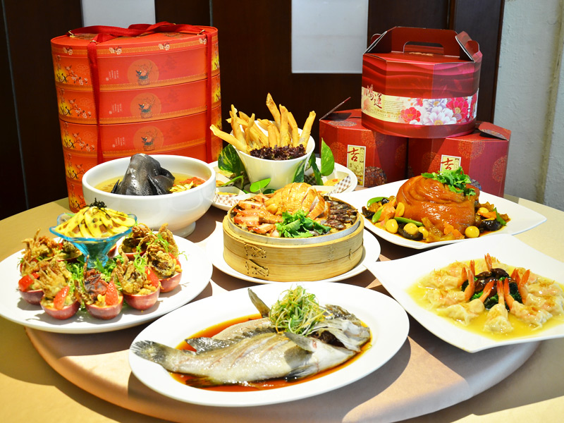 Pre-Order Takeaway for New Year's Feast in Zhongli City