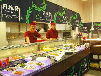 台北日本料理吃到飽餐廳日不落2014年2月起推出壽星優惠,只要是當月壽星憑身份證和至少一位親朋好友前來消費吃到飽用餐方式,則一人可享有半價的優惠。(攝影/石靜怡)