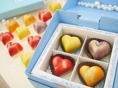 七夕情人节浪漫送礼 爱心巧克力传情表心意